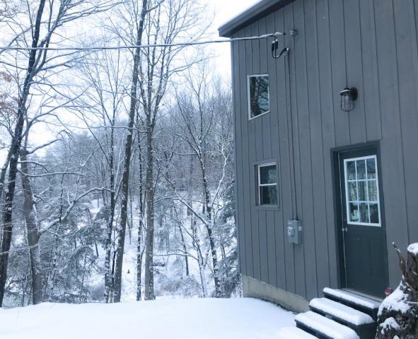 Photo of Rushing River Art Studio in the Winter